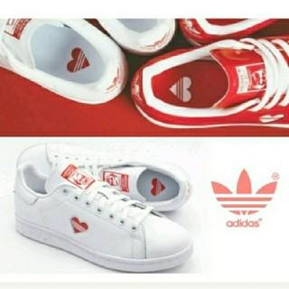 アディダス(adidas)のスタンスミス アディダス スニーカー バレンタイン ハート stan smith(スニーカー)