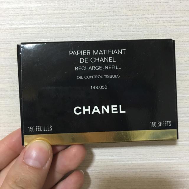 CHANEL(シャネル)のCHANEL あぶらとり紙 詰め替え コスメ/美容のベースメイク/化粧品(その他)の商品写真