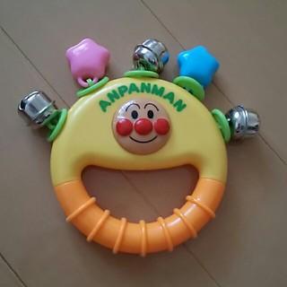 アンパンマン(アンパンマン)の【ベビー】アンパンマン☆ミニタンバリン(楽器のおもちゃ)