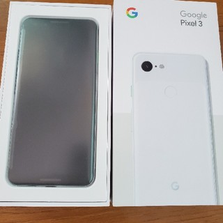 ANDROID - 新品 Pixel 3 64GB ホワイト SIMフリー ○判定