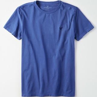 American Eagle - アメリカンイーグル クルーネックTシャツ 新品未使用 サイズXL ブルー