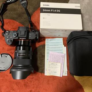 SIGMA - 水曜日まで値下げ SIGMA 24mm f1.4 DG