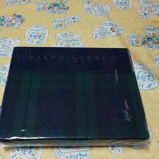 ラルフローレン(Ralph Lauren)のラルフローレンフィテイドシ―ツシングルサイズブラックウォッチ一枚(シーツ/カバー)