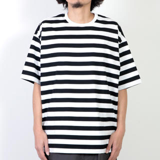 GRAPHPAPER 19ss ボーダーS/S Tee(Tシャツ/カットソー(半袖/袖なし))