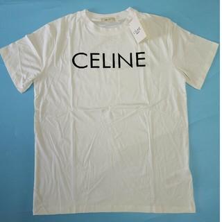 セリーヌ(celine)のCeline 売れ上げT-シャツ 正規品 ホワイト S (Tシャツ/カットソー(半袖/袖なし))