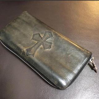 クロムハーツ(Chrome Hearts)のクロムハーツ ジップウォレット 財布 長財布 ラウンドジップ(長財布)
