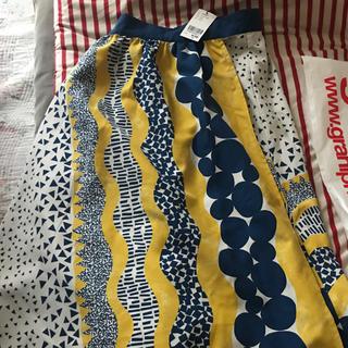 グラニフ(Graniph)の新品  タグ付き グラニフ graniph スカート(ひざ丈スカート)