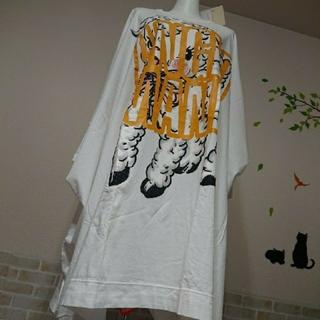 ヴィヴィアンウエストウッド(Vivienne Westwood)のヴィヴィアン ウエストウッド アングロマニア 新品 羊 ロゴ BIG ワンピース(ひざ丈ワンピース)