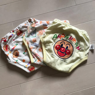 バンダイ(BANDAI)のおむつカバー アンパンマン 3枚(ベビーおむつカバー)