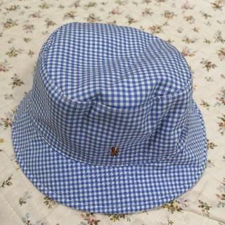 ラルフローレン(Ralph Lauren)のラルフローレンのベビー帽子 46cm☆キッズ(帽子)