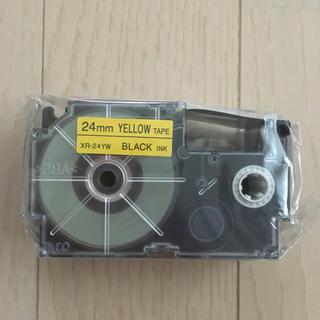 ネームランド 黄テープ 24mm
