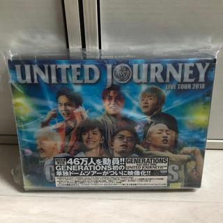 ジェネレーションズ(GENERATIONS)のunited journey Live DVD(ミュージック)