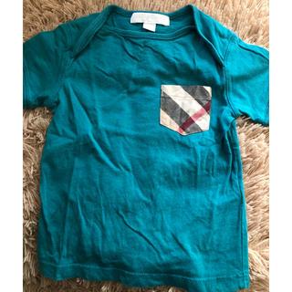 バーバリー(BURBERRY)のバーバリー Tシャツ 12m/80センチ(Tシャツ)