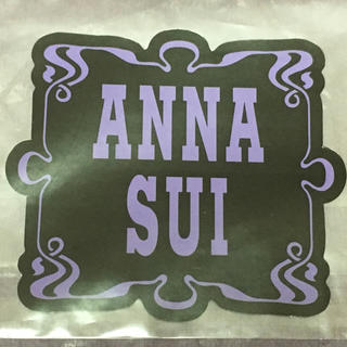 ANNA SUI - 非売品【新品】アナスイ ステッカー シール☆ANNA SUI