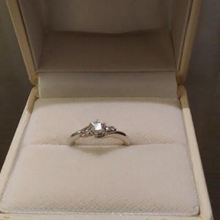スタージュエリー(STAR JEWELRY)のスタージュエリー☆プラチナダイヤモンド ピンクダイヤモンドリング(リング(指輪))