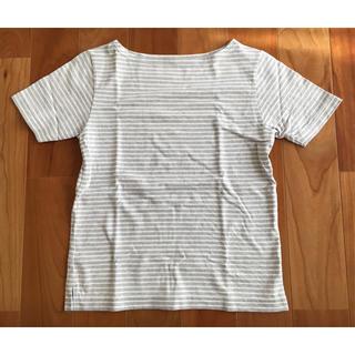 ムジルシリョウヒン(MUJI (無印良品))の半袖Tシャツ 無印良品 良品計画 Mサイズ カットソー ボーダー(カットソー(半袖/袖なし))