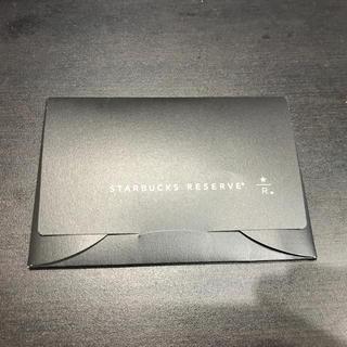Starbucks Coffee - 激レア数量限定スタバリザーブカード☆新品未使用☆送料込