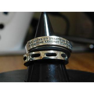 ドクターモンロー(Dr.MONROE)の新品 ドクターモンロー メッセージリング 21号 アクセサリー(リング(指輪))