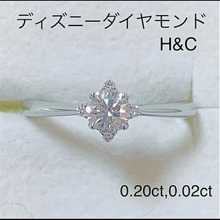 ディズニー(Disney)のプラチナ ダイヤ モンド リング(リング(指輪))