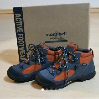 mont bell - 値下げ!mont-bell トレッキングシューズ