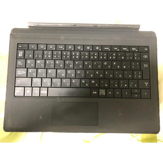 マイクロソフト(Microsoft)のsurface pro3 タイプカバー マイクロソフト 2点 (ブラック不良有)(PC周辺機器)