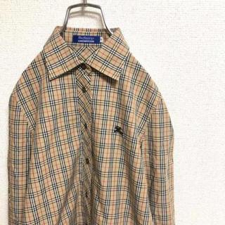 バーバリーブルーレーベル(BURBERRY BLUE LABEL)のバーバリー チェックシャツ(シャツ/ブラウス(長袖/七分))