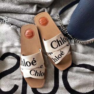 クロエ(Chloe)のChloeサンダル スリッパ シャネル Hermes男女兼用(サンダル)