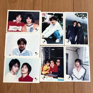 タッキーアンドツバサ(タッキー&翼)の滝沢秀明 公式写真7枚(アイドルグッズ)