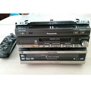 パナソニック(Panasonic)のストラーダ Panasonic カーナビリモコン付 CN-HDS950MD(カーナビ/カーテレビ)