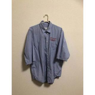ジョンローレンスサリバン(JOHN LAWRENCE SULLIVAN)のmartine rose 17ssストライプシャツ(シャツ)