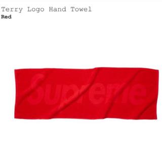 シュプリーム(Supreme)の【新品未使用】Supreme:Logo Hand Towel / タオル(タオル/バス用品)