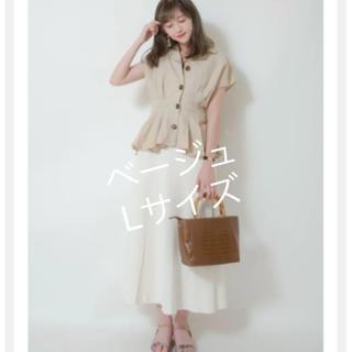 シマムラ(しまむら)のしまむら プチプラのあや オープンカラー開襟シャツ(シャツ/ブラウス(半袖/袖なし))