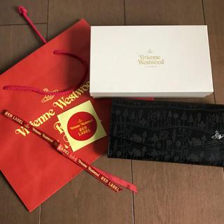 ヴィヴィアンウエストウッド(Vivienne Westwood)の【新品未使用】VivienneWestwood/ロングウォレット長財布 ブラック(財布)