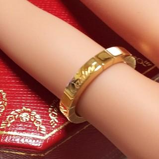 カルティエ(Cartier)のカルティエリング/750YGラニエール(リング(指輪))