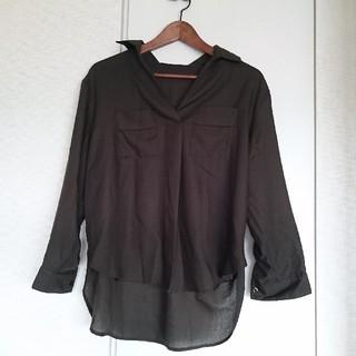 シマムラ(しまむら)の【しまむら】袖ロールアップシャツ☆(シャツ/ブラウス(長袖/七分))