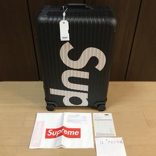 シュプリーム(Supreme)の[82L] Supreme RIMOWA Topas Multiwheel(トラベルバッグ/スーツケース)
