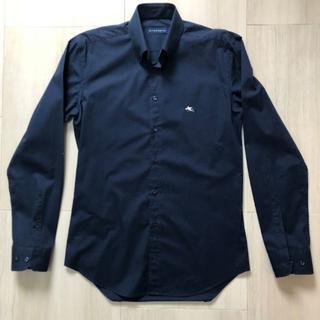 エトロ(ETRO)のETRO ボタンダウンシャツ ダークネイビー(シャツ)