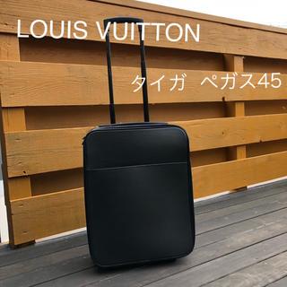 ルイヴィトン(LOUIS VUITTON)の【お値下げ中】LOUIS VUITTON ペガス45 タイガ アルドワーズ(トラベルバッグ/スーツケース)