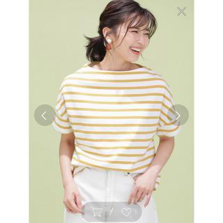 ナノユニバース(nano・universe)のnano・universe ナノユニバース☆ワイドドロップボーダーTシャツ☆(Tシャツ(半袖/袖なし))
