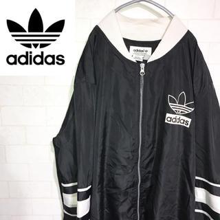 adidas - adidas アディダス ナイロンジャケット トレフォイル ブラック90s