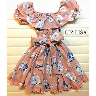 美品*LIZ LISA 花柄ワンピース