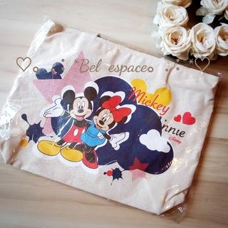 ディズニー(Disney)の♡新品♡ミッキー&ミニー ディズニー バッグ(トートバッグ)