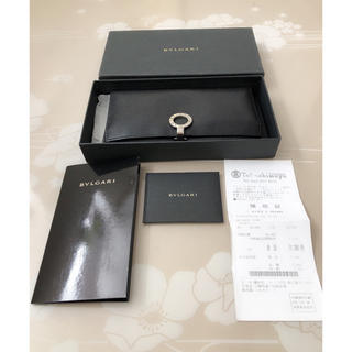 ブルガリ(BVLGARI)のE065 美品★ ブルガリ BVLGARI ブラック ロング ウォレット 長財布(財布)