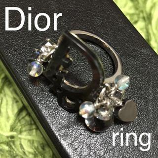 クリスチャンディオール(Christian Dior)のDior 指輪 15号✡キラキラブラック(リング(指輪))