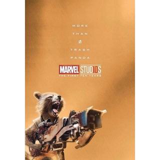 マーベル(MARVEL)のロケット ポストカード アベンジャーズ ガーディアンズオブギャラクシー(キャラクターグッズ)