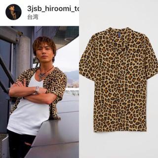 H&M - h&m レオパードシャツ 登坂広臣