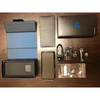 Galaxy - au Galaxy S9 ほぼ新品 SIMロック解除 利用制限○
