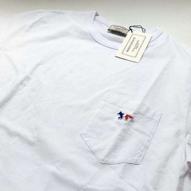 MAISON KITSUNE'(メゾンキツネ)のMaison kitsune トリコロール XS メンズのトップス(Tシャツ/カットソー(半袖/袖なし))の商品写真