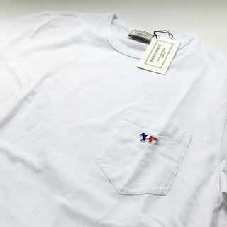 メゾンキツネ(MAISON KITSUNE')のMaison kitsune トリコロール XS(Tシャツ/カットソー(半袖/袖なし))