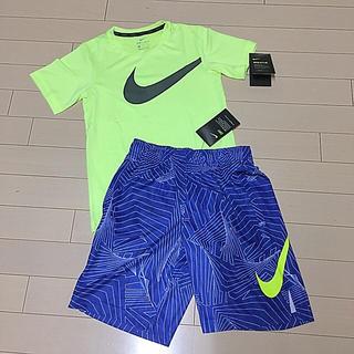 NIKE - 新品!ナイキ 140〜150 キッズ ジュニア Tシャツ ハーフパンツ セット